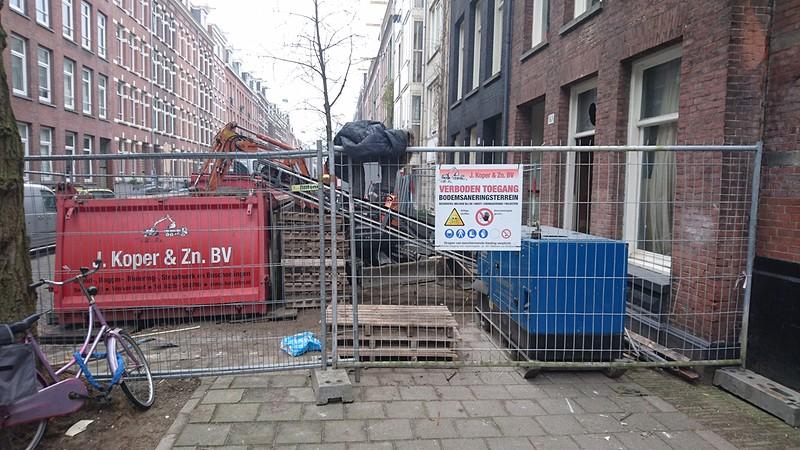 Inpandig grondwerk Amsterdam
