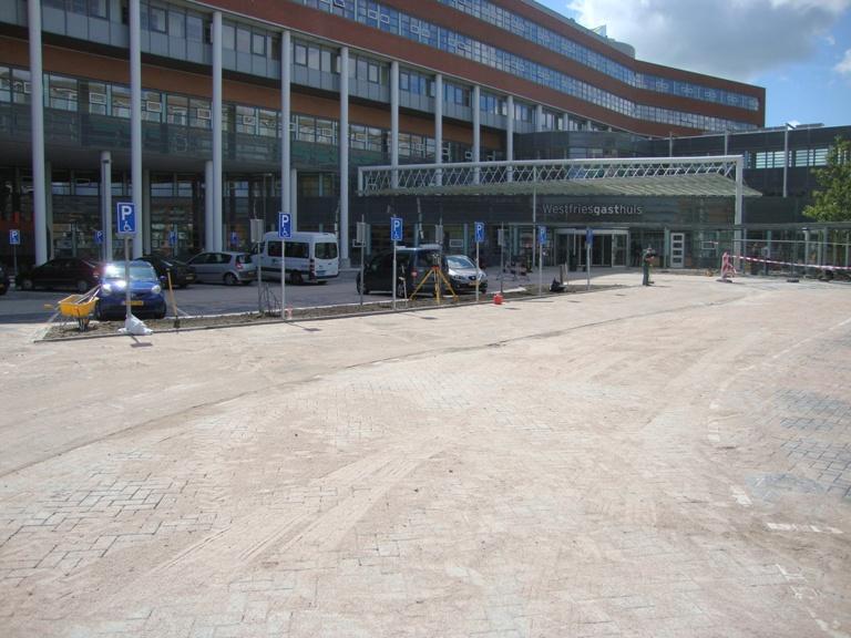 Herinrichting hoofdingang Westfries Gasthuis